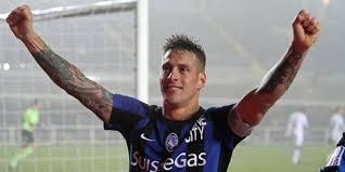 German Denis ha realizzato 56 reti con la maglia dell'Atalanta