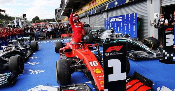Gp SPA - La prima volta di Leclerc! La Ferrari torna a vincere