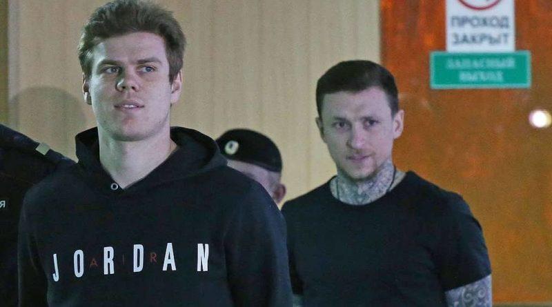 I due calciatori russi erano arrestati lo scorso Maggio