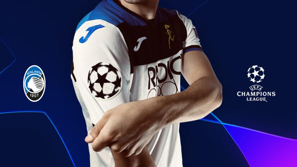 Pre-partita di Dinamo Zagabria-Atalanta: la maglietta che l'Atalanta utilizzerà per lo storico esordio in UCL.