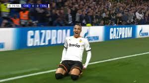 L'unico successo stagionale del Valencia in trasferta è firmato dal gol di Rodrigo in UCL contro il Chelsea.