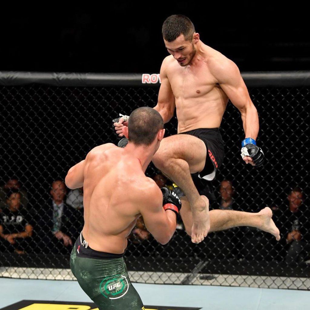 UFC Fight Night - Makhmud Muradov contro di Chirico