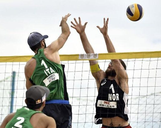 Preolimpico beach volley
