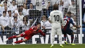 L'ultimo Real-Levante al Bernabeu è terminato 1-2 per gli ospiti.