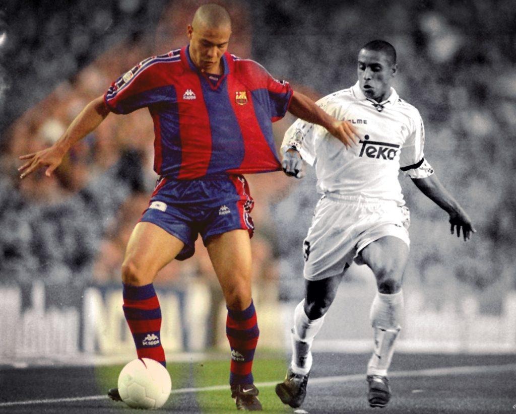 Luis Nazario de Lima - Ronaldo con la maglia del Barcellona