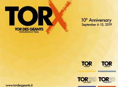 Il Tor des Géants per il suo decimo anniversario si è diviso in 4 gare.