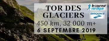 Tor des Glaciers, un nuovo trail che si disputa da quest'anno.