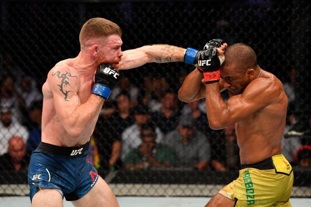 UFC 242: Paul Felder batte Edson Barboza