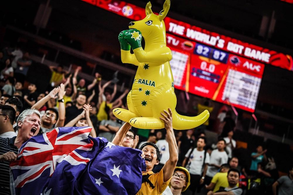 la gioia dei tifosi australiani