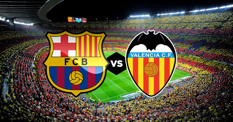 Il Barcellona ospita il Valencia al Camp Nou