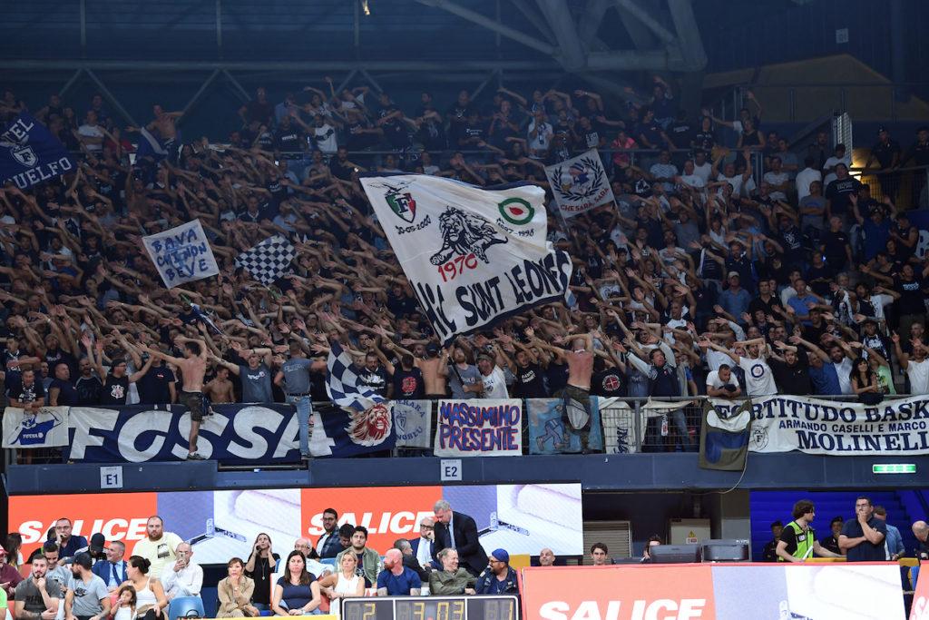 oltre 1500 i tifosi della Fortitudo giunti a Pesaro