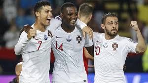 Ronaldo, William Carvalho e Bernardo Silva sono tre dei quattro marcatori nel 2-4 contro la Serbia