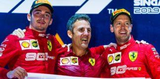 GP Singapore - Doppietta Ferrari! Vince Vettel davanti a Leclerc
