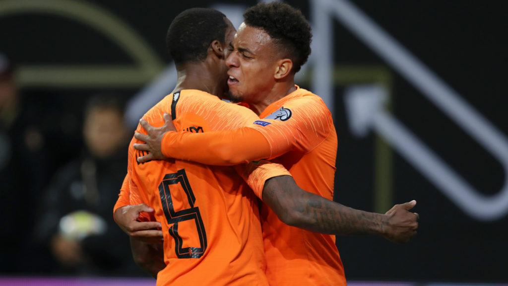 Wijnaldum serve, a Malen, l'assist per il 2-3 e, al 91', mette il risultato al sicuro per il definitivo 2-4