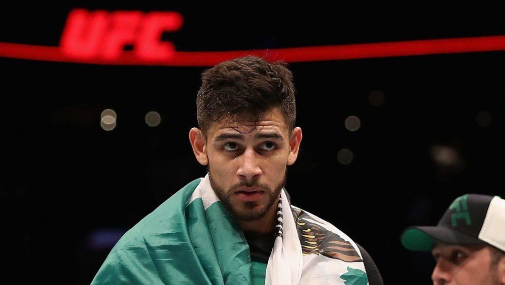 UFC Fight Night 159 - Yair Rodriguez nell'ottagono di Città del Messico