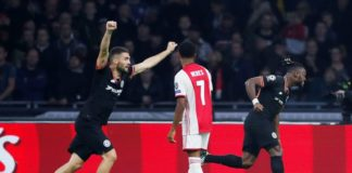Ajax Chelsea, vittoria blues