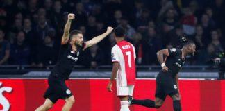 Ajax Chelsea, vittoria blues