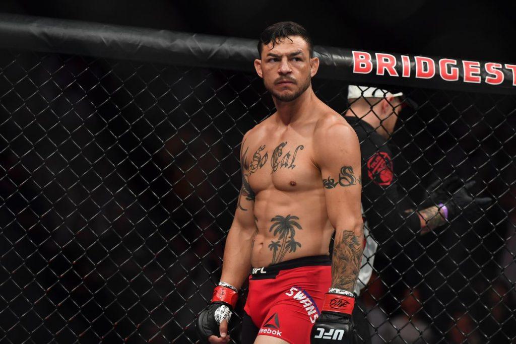 UFC Fight Night 161 - Uno degli idoli delle MMA Cub Swanson