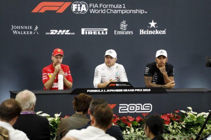 "Bottas: ""Grande team!"". Vettel ""In partenza errore mio"""