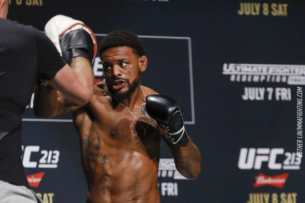 UFC Fight Night 162 - Michael Johnson open workout