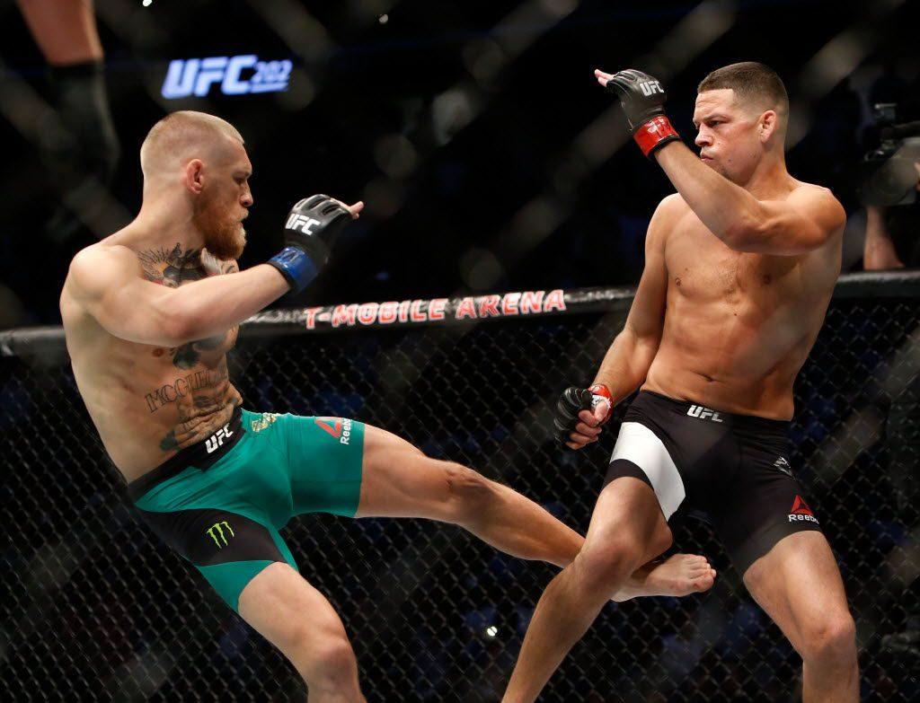 Nate Diaz - La gamba destra è fondamentale per la sua boxe