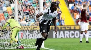 Okaka ha regalato i tre punti nell'ultimo turno all'Udinese contro il Torino.