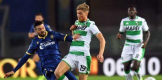 Verona-Sassuolo è terminata sullo 0-1