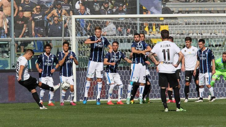 Pescara-Spezia è terminata 1-2
