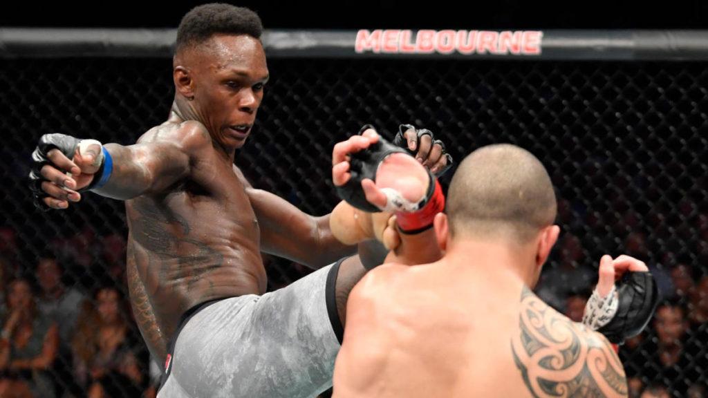 UFC - 243: Un calcio alla testa di Adesanya