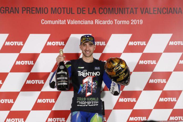 Matteo Ferrari è Campione del Mondo Moto E