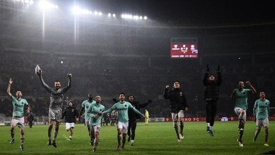 Nell'ultimo turno l'Inter ha vinto0-3 in casa del Torino; probabili formazioni di Inter-Spal.