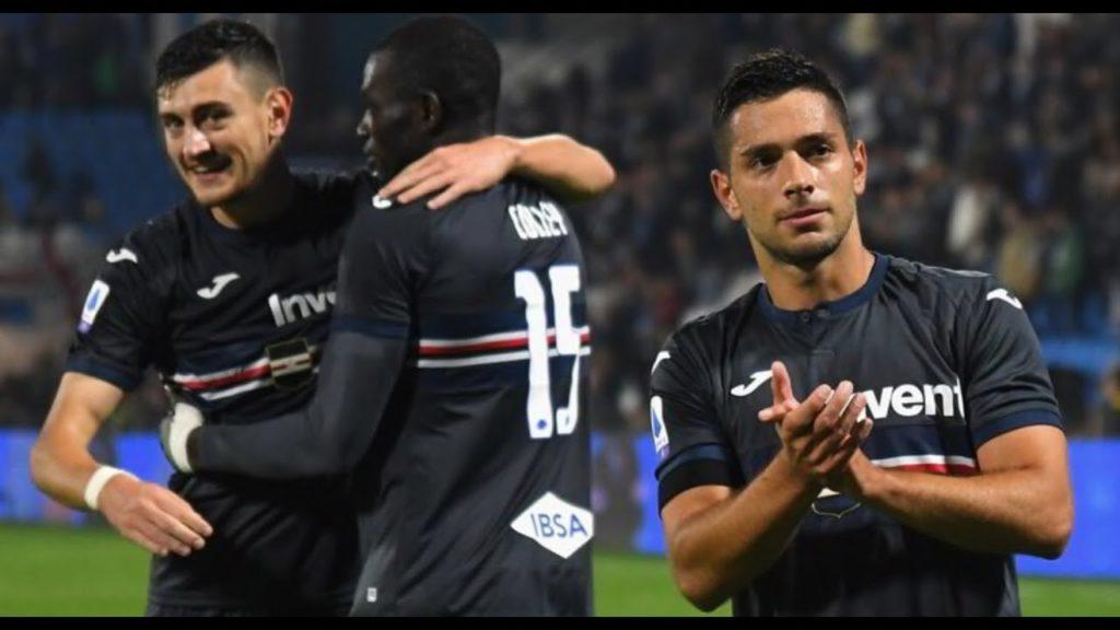 Caprari decide di testa lo scontro in coda alla Serie A nel recupero del secondo tempo; Spal-Sampdoria 0-1.