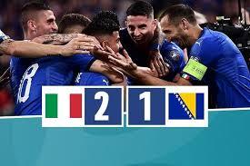 Gli azzurri nel match d'andata si sono imposti per 2-1 contro la Bosnia, continuando nel loro filotto di vittorie nel girone.