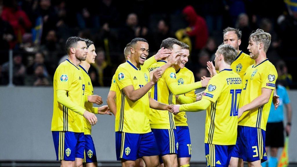 La Svezia ha vinto 2-1 la gara d'andata contro la Romania; pronostici delle gare del 15-11-2019.