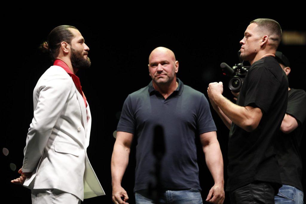 Masvidal e Diaz a confronto in un evento di promozione