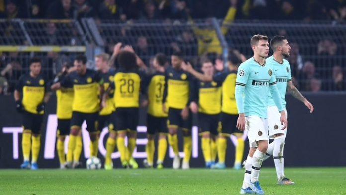 Harakiri Inter a Dortmund! Perde 3-2 e complica la qualificazione
