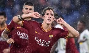 L'autore del vantaggio della Roma nella partita di andata, Nicolò Zaniolo, autore di quattro gol nelle ultime quattro partite disputate