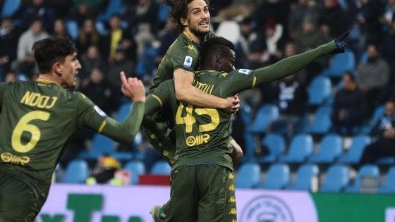 Balotelli ha regolato con la sua rete di misura la Spal, nell'ultimo scontro diretto esterno giocato dal Brescia.