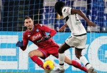 Napoli-Parma 1-2, Gervino beffa gela il San Paolo al 93'