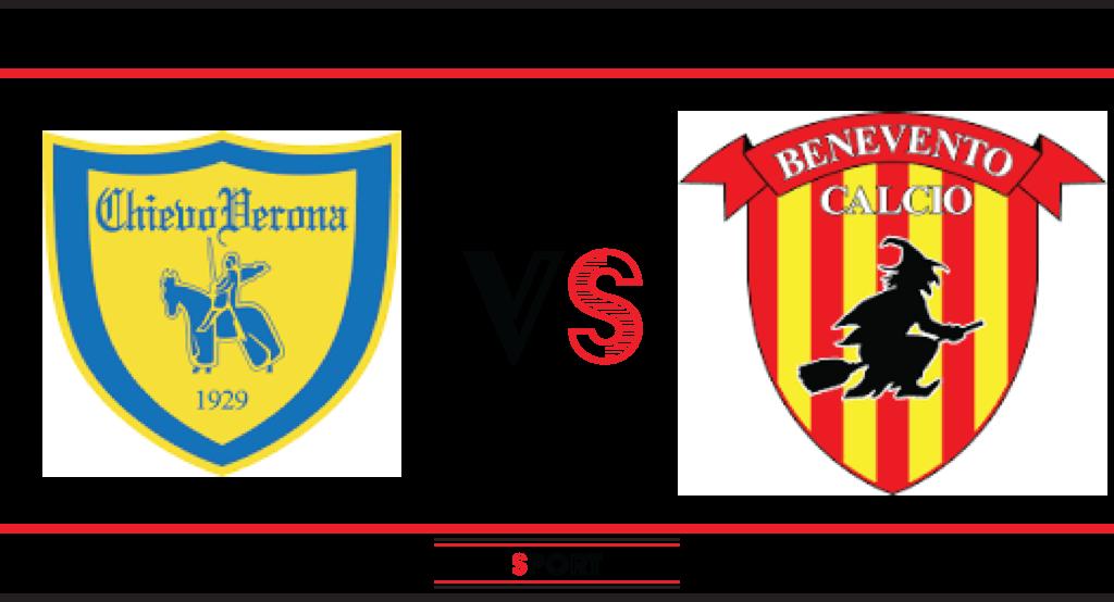 Chievo-Benevento, big match della 18a giornata di Serie B; pronostico di Chievo-Benevento.