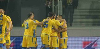 Frosinone - Crotone termina 1-2