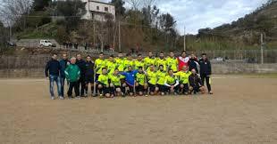 Lo Sporting Maierà, squadra in cui milita Angelo Ricca.