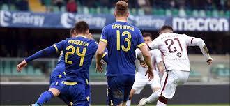 Il raddoppio di Berenguer; Verona-Torino 0-2.
