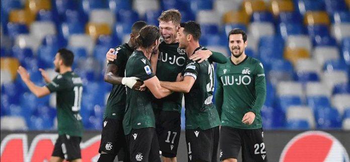 Impresa del Bologna! Al San Paolo finisce 1-2