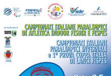 Campionati Italiani Paralimpici Indoor ed Invernali Lanci