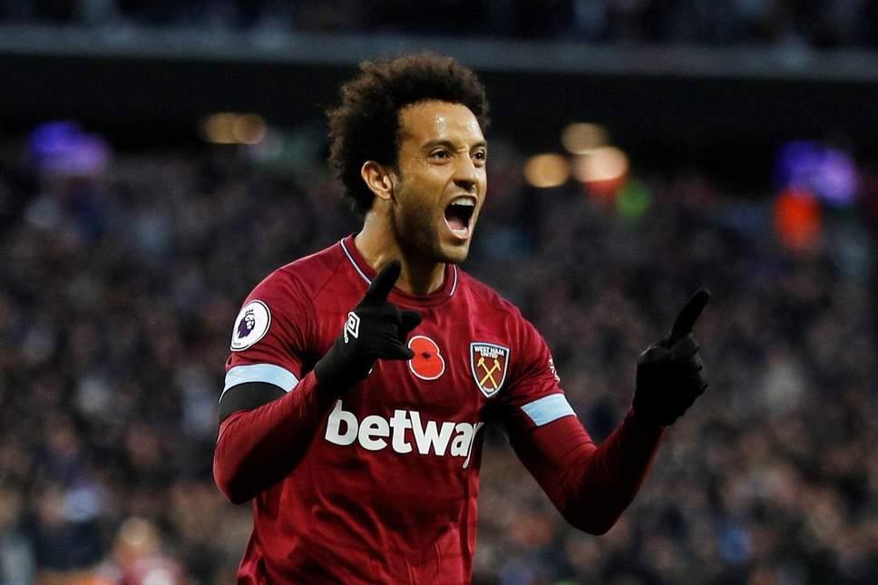 Felipe Anderson, West Ham-Liverpool