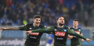 Il Napoli sbanca Marassi e punta la Champions