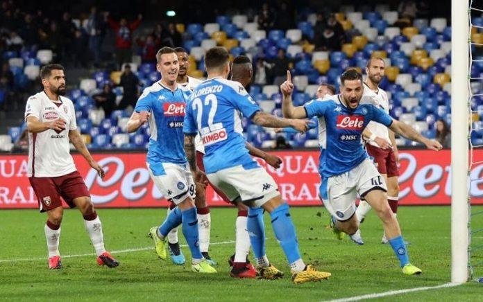 Napoli-Torino 2-1, la difesa fa volare Gattuso