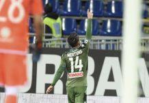 Cagliari-Napoli 0-1, una magia di Mertens fa volare gli azzurri