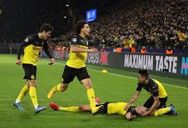 Haaland esulta ancora! Borussia-PSG 2-1.